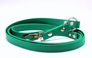 Anti-pull leash, width 1,9 cm, thickness 2,5 mm, long 1,90 m
